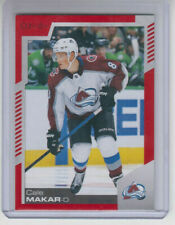 20/21 OPC Colorado Avalanche Cale Makar Red Border Blank Back card Ltd #1/1
