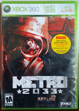 Xbox 360 Game - Metro 2033 (New)