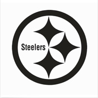 Pittsburgh Steelers NFL Football Vinyl Die Cut Car Decal Sticker - FREE SHIPPING