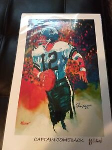 Roger Stauback -Captain Comback Winford Art Print Lithogragh