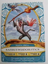 Disney SOTMK Sorcerers of the Magic Kingdom Rafiki's Wisdom Stick Card #56/70