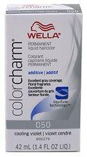 Wella Color Charm Permanent Liquid Hair Toner #050 Cooling Violet , 1.4oz/42ml.