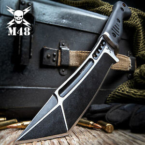 United Cutlery M48 Tactical Fixed Blade Knife Bowie Hunting Tanto w/ Sheath