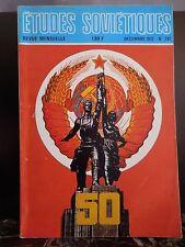 Etudes Soviétiques revue mensuelle 1972 1975 ARTBOOK by PN