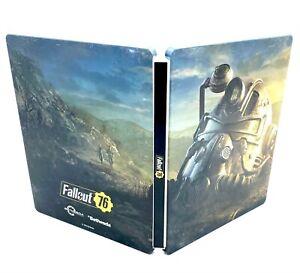 Steelbook steel book Fallout 76 game sans jeu Bon état Metal Case
