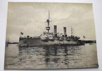Foto Kaiserliche  S.M.S. Odin. Marine Kriegsschiffe