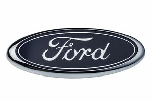 1998-2004 Ford F150 F250 Front Grille Blue Ford Oval Grill Emblem OEM E7TZ8213BB