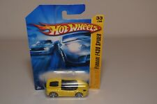 V 1:64 HOTWHEELS FERRARI F430 F 430 SPIDER YELLOW MINT BOXED ON LONG CARD