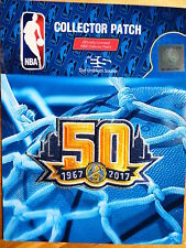 Official Licensed NBA Denver Nuggets 50th Anniversary Iron/Sew On Patch 2017/18