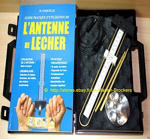 Antenne de lecher Détéction noeuds Hartmann 🙏 1 livre mode d'emploi Français 🐉