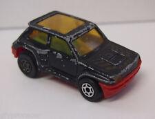 MAJORETTE MOTOR MADE IN FRANCE Renault 5 Turbo in Black