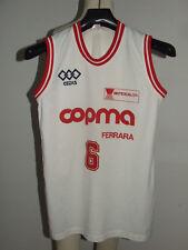 Shirt Maillot Tank Top Basketball Women Match Worn Copma Ferrara n °6