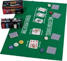 Pro Poker Texas Hold'em set in tin