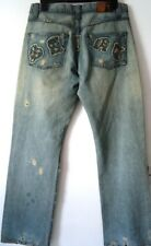 Mens ALLSAINTS Distressed Ripped JEANS - W32 L 34 - RRP £119 - Hardly Worn VGC