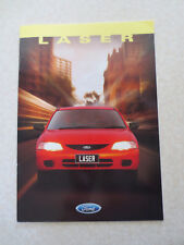1997 Ford Laser automobile advertising booklet