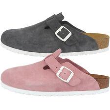 Birkenstock Boston SFB Veloursleder Weichbettung Clogs Schuhe Sandale Pantolette
