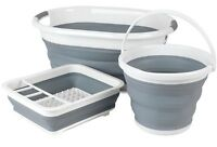BELDRAY COLLAPSIBLE FOLDING DISH DRAINER RACK LAUNDRY CLOTH BASKET WATER BUCKET