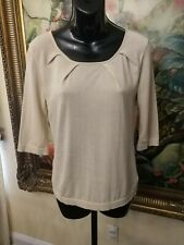 Doncaster Ladies Gathered Knit Top S