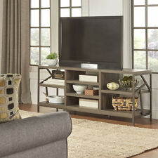Rustic TV Stand Entertainment Center Wood Media Console Table Furniture Storage