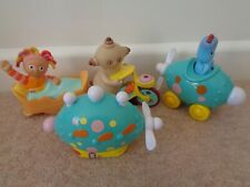 IN THE NIGHT GARDEN IGGLE  PUSH AND GO & PUSH ALONG VEHICLES