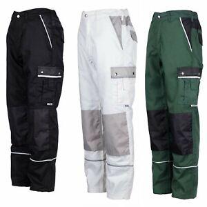 Arbeitshose Bundhose Malerhose Berufskleidung Schutzhose Canvas mit Cordura Hose