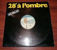 """JEAN-FRANCOIS MAURICE - 28º À L'ombre [3'45] MAXI 45 TOURS 1979 Maxi-Single 12"""""""