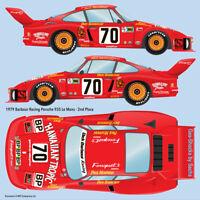 1979 Paul Newman Barbour Racing Porsche 935 Le Mans water transfer decals 1/24