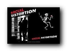 SOCIAL DISTORTION - SLAMMER - FABRIC POSTER - 30x40 WALL HANGING - HFL0588