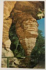 Vintage Postcard Hornets Nest Rock Dells of the Wisconsin River 1977