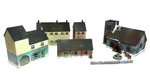 European Town/Village Buildings - 28mm MDF Scenery WW2/tabletop/Bolt Action
