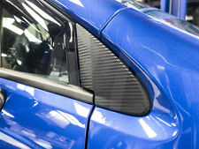 2015 2016 Subaru WRX / STI 3D Carbon Fiber Quarter Window Trim Overlays