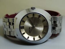 VINTAGE Enicar Sherpa Star Automatic Swiss Wrist Watch e149 Old used Antique