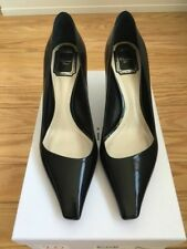 Christian Dior Patent Leather Black Songe Pumps size US 8.5, EU 39