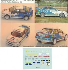 decal MITSUBISHI EVO VI FONT CATALUNYA '04  Kitcar43 43081D