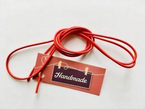 collana COTONE 100% colorato, rosso fragola