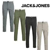 Jack And Jones Cargo Trousers Chinos Men's Slim-Fit Stretchable Jeans Pants