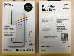 BodyGuardz Pure 2 Eyeguard iPhone 11 / XR Tempered Glass Screen Protector