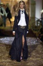 DSQUARED2 BLACK skirt Runway 42It S-M