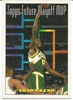 Shawn Kemp Future Playoff MVP Topps 1993/94 - NBA Basketball Card #202