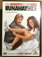 Runaway Bride DVD 1999 Romcom Comedy with Julia Roberts and Richard Gere