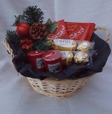 Christmas Chocolate Hamper Ferrero  Lindt & Yankee Candle  - Sweet Gift Hamper