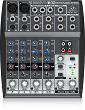 Behringer 802 Premium 8-Input 2-Bus Mixer + Warranty