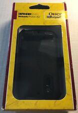 Authentic Otterbox Defender  for Motorola Photon 4G Black Case