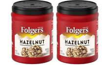 Folgers Flavors Hazelnut Ground Coffee 2 Can Pack