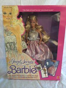Vintage 1986 Jewel Secrets Barbie NRFB
