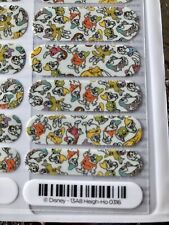 Jamberry 7 Dwarves Heigh Ho Disney Snow White Full Sheet Rare Retired Unicorn