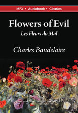 Flowers of Evil - Unabridged Mp3 Cd Audiobook in Dvd case