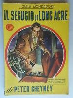 Il segugio di Long AcreCheyney PeterMondadori1950giallo 89 Trant Stout Wolfe