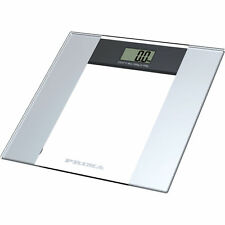 Electronic glass weighing scales - 150kg / 24st /330lb - Bathroom scale Kitchen