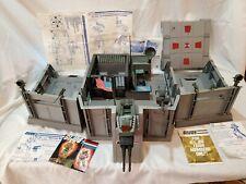 Vintage 1983 GI Joe ARAH Headquarters Command Center w/ Paperwork